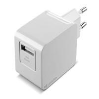 Сетевое зарядное устройство для Apple Cellular Line 1 USB 2A + кабель Lightning